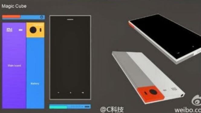 Smartphone Xiaomi Magic Cube.