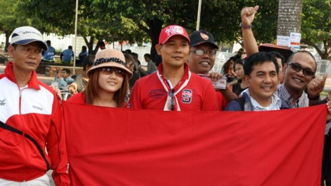 Para warga negara Indonesia di Myanmar