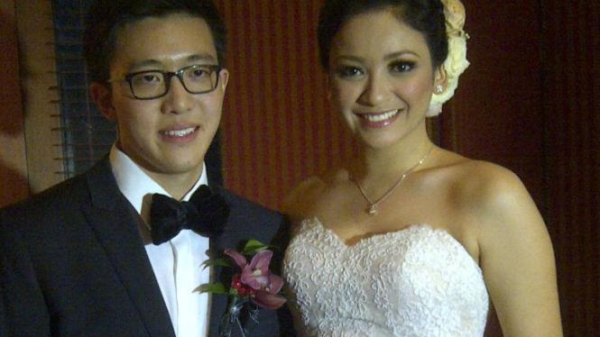 Agni Pratistha dan Ryan Anthony menikah