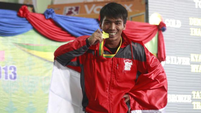 Deni, lifter Indonesia
