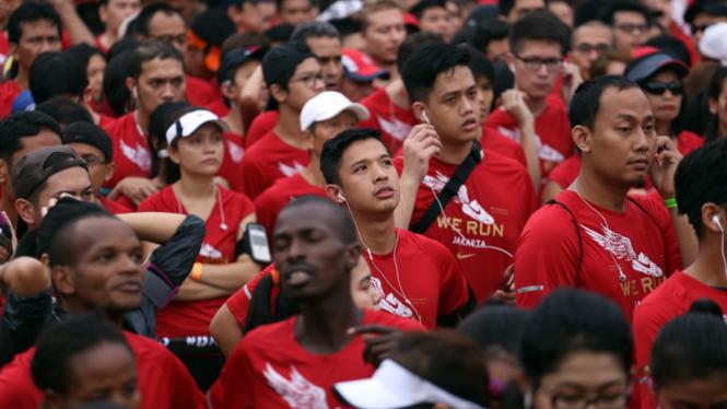 Bajak Jakarta Lomba Lari 10K