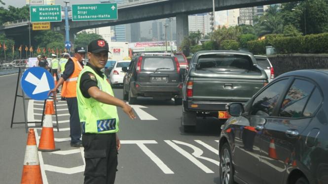 Ilustrasi/Aktivitas lalulintas Jakarta