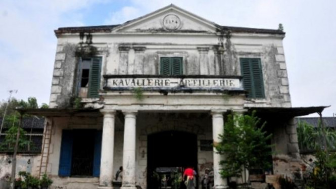 Gedung Kavallerie Artillerie di Pura Mangkunegaran