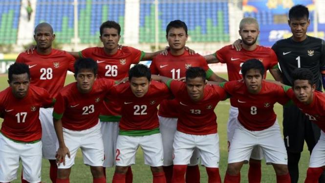 Pemain timnas Indonesia U-23 di SEA GAmes 2013