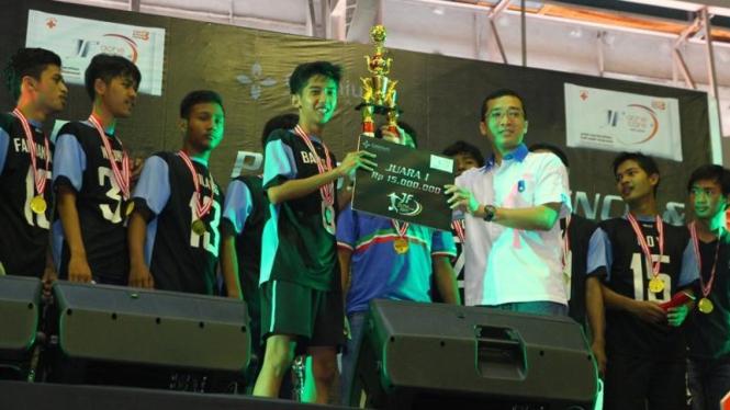 SMA 51 jadi juara Grand Futsal Challenge