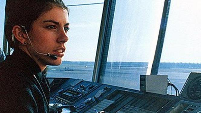 Pengawas lalu lintas udara di bandara