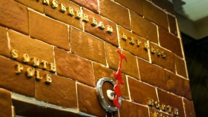 Gingerbread Express, elevator dari roti jahe