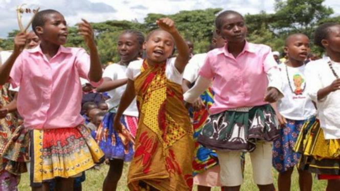 Perayaan Natal di Afrika