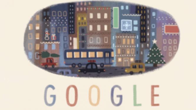 Google saat Natal