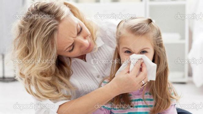 Solusi alergi pada anak
