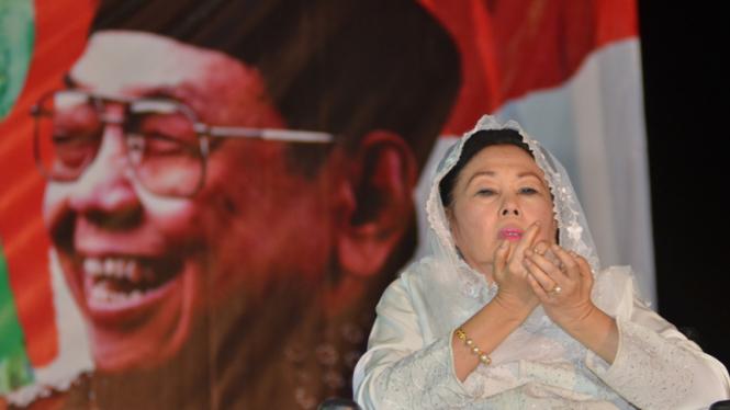 Istri mendiang Gus Dur, Sinta Nuriyah Wahid.