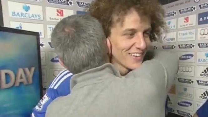 Jose Mourinho dan David Luiz