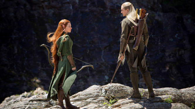 The Hobbit :The Desolation of Smaug.
