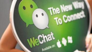 Aplikasi chatting WeChat