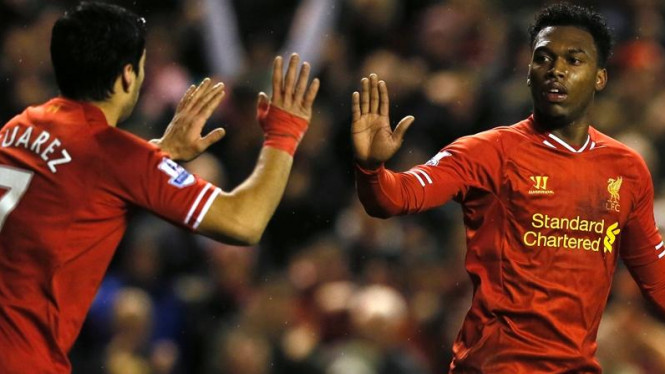 Luis Suarez dan Daniel Sturridge.