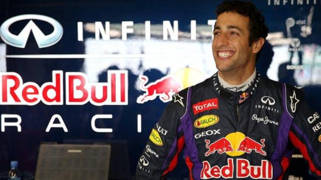 Pembalap Red Bull, Daniel Ricciardo
