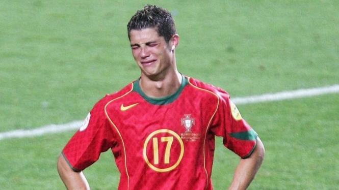 Pemain Portugal, Cristiano Ronaldo.