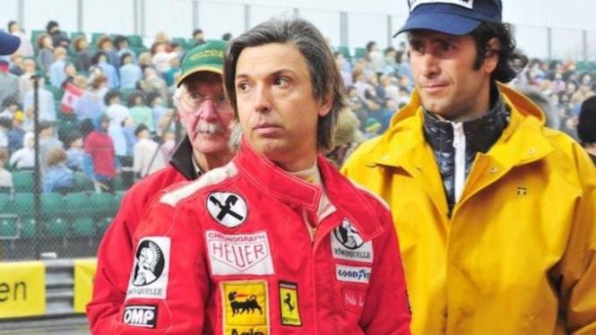 """Mauro Pane, menjadi stunt double di film """"Rush""""."""