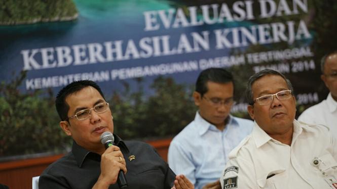 Evaluasi Kementrian Pembangunan Daerah Tertinggal Helmy Faishal Zaini