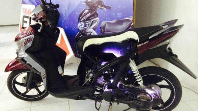 Bedah motor injeksi Yamaha
