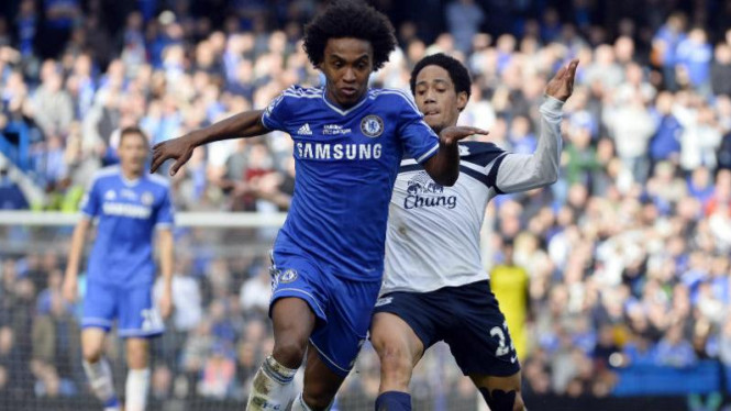 Winger Chelsea, Willian (kiri)