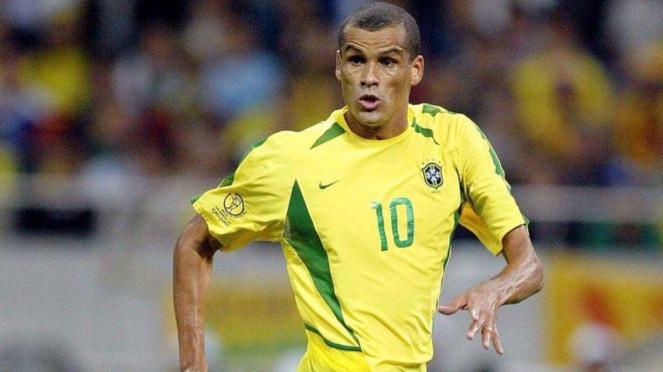 Eks bintang Barcelona dan Timnas Brasil, Rivaldo.