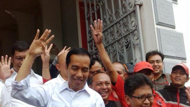 Jokowi Kampnye PDIP