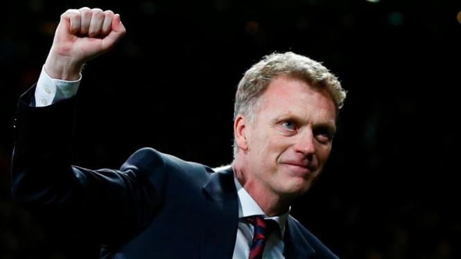 Pelatih Manchester United, David Moyes