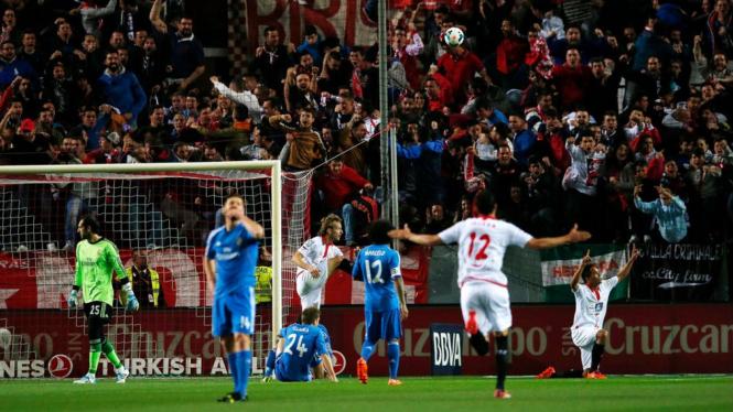 Real Madrid dikalahkan Sevilla