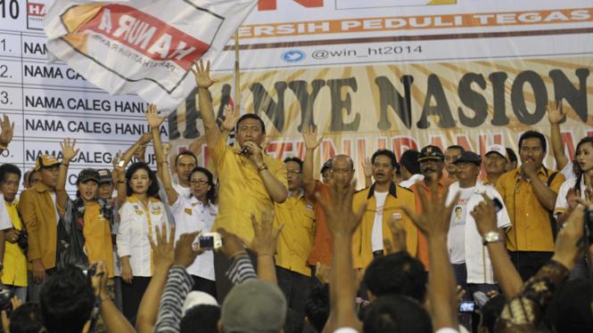 Kampanye Partai Hanura di Bali.