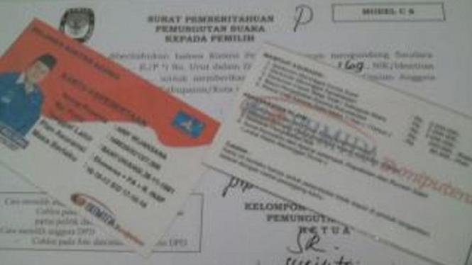 Politik Uang dalam Pemilu 2014. (Foto ilustrasi).