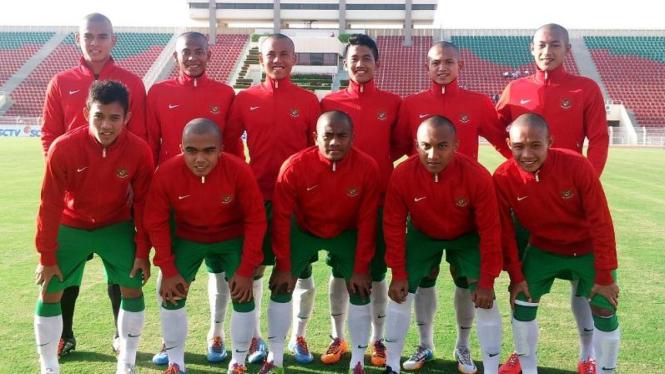 Pemain Timnas Indonesia U-19 di Tur Timur Tengah