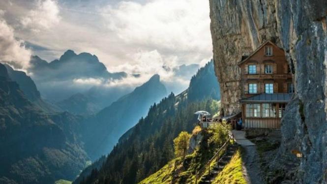 Hotel Staubbach, Lauterbrunnen, Swiss