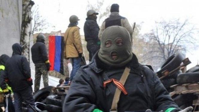 Baku tembak di Ukraina