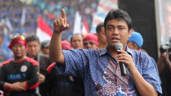 Presiden KSPI, Said Iqbal.