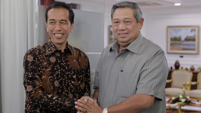 Jokowi saat ajukan cuti ke SBY jelang Pilpres 2014.