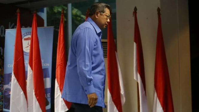 Ketua Umum Partai Demokrat Susilo Bambang Yudhoyono (SBY ).