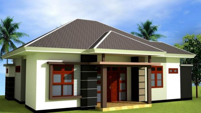 Membuat Desain Eksterior Rumah Sederhana