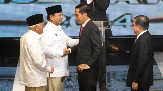 Debat Capres-Cawapres 2014 di Balai Sarbini, Jakarta