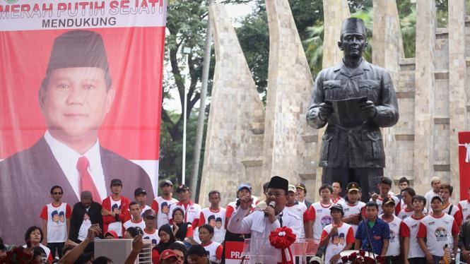 Deklarasi Dukungan Prabowo Dari Relawan Merah Putih Sejati