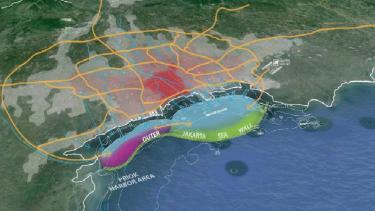 Proyek Giant Sea Wall Jakarta.