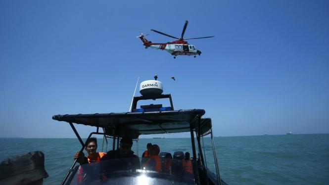Pencarian korban kapal tenggelam oleh Malaysia
