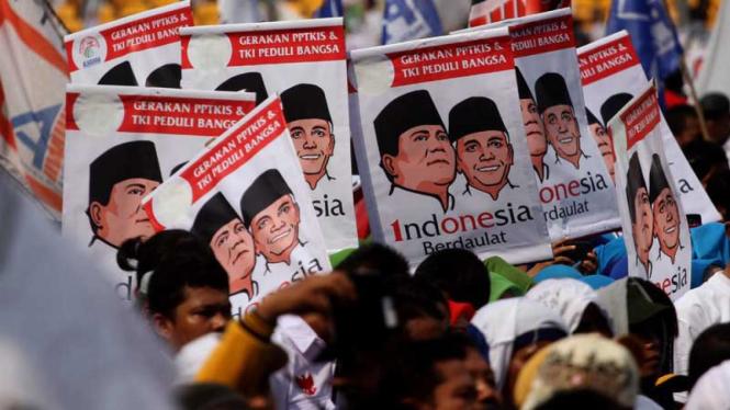 Kampanye Akbar Prabowo-Hatta di SUGBK