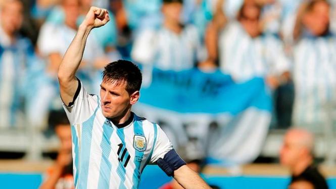Pemain Timnas Argentina, Lionel Messi.