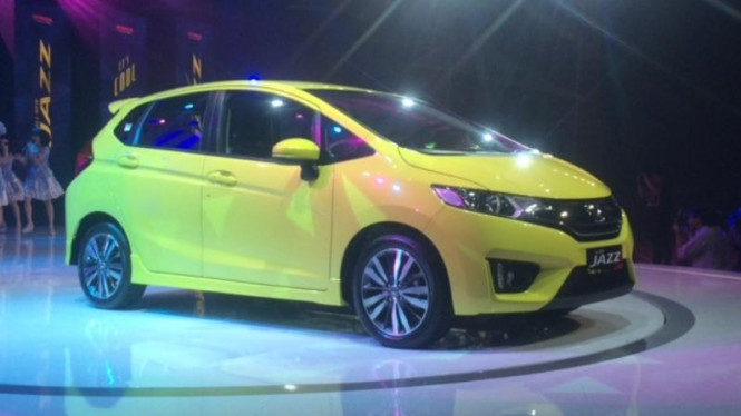 All New Honda Jazz 2014.