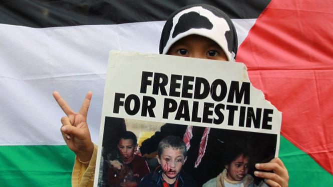 Dukungan rakyat Indonesia untuk Palestina