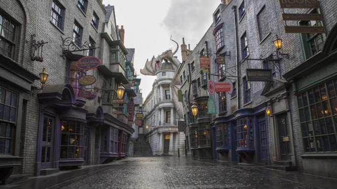 Wizarding World of Harry Potter di Universal Orlando.