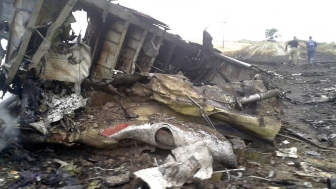 kecelakaan pesawat Malaysia Airlines di Ukraina