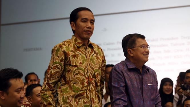 Jokowi - JK Presiden dan Wakil Presiden Terpilih