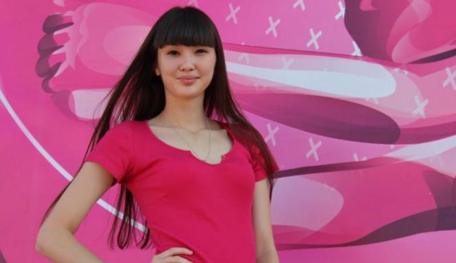 Pevoli cantik asal Kazakhstan, Sabina Altynbekova